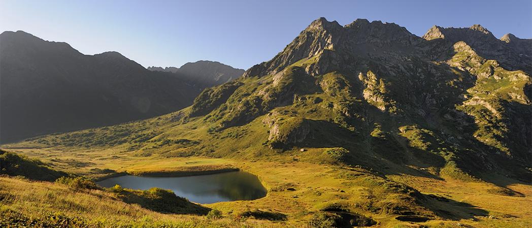 Горы в районе Сочи